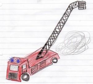 Drehleiterwagen